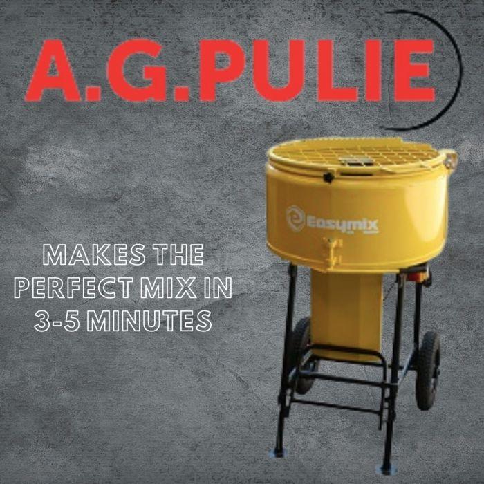 AG Pulie 120 Litre Paddle Mixer