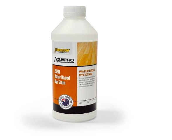 5 Litre 2120 Water Based Dye Stain Aquapro Polycure