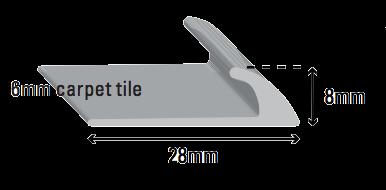 Carpet Tile Edge MB  HT-385