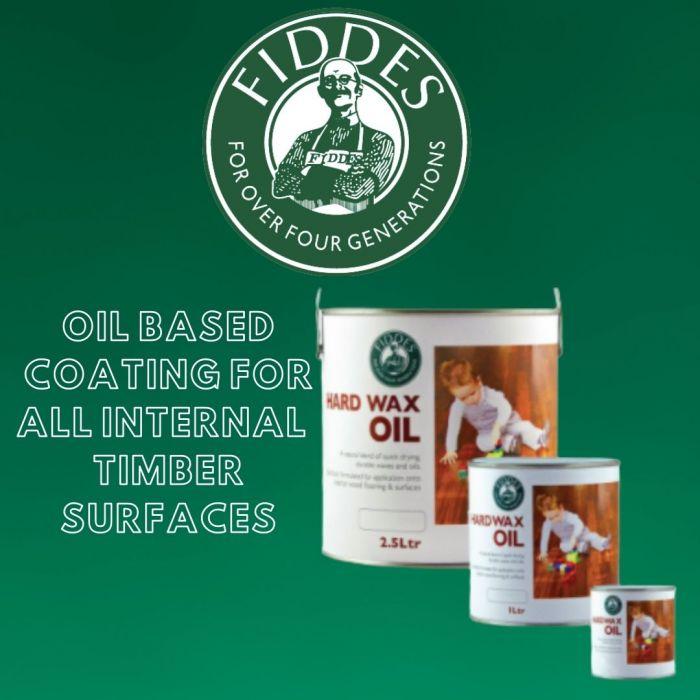 Fiddes Hard Wax Oil Satin