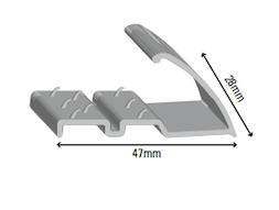 Naplock Pinned Commercial Silver HT201S