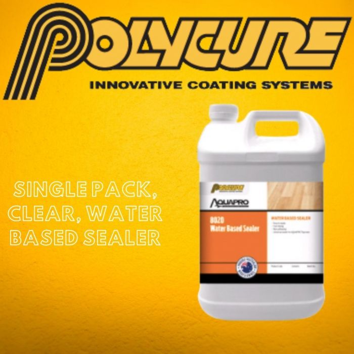 Polycure Aquapro 8020 Clear Sealer