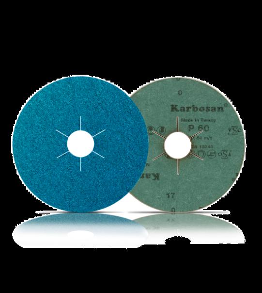 ATS Abrasive Fibre Disc 178mm ZWR11