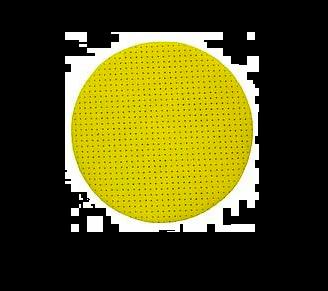 Loba Abrasive Disc 125mm Yellow