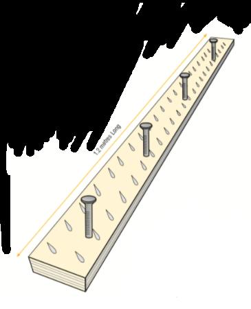 Smooth Edge Gripper Long Pin 6.5mm