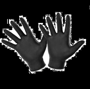 Black Nitrate Gloves 100 Pack