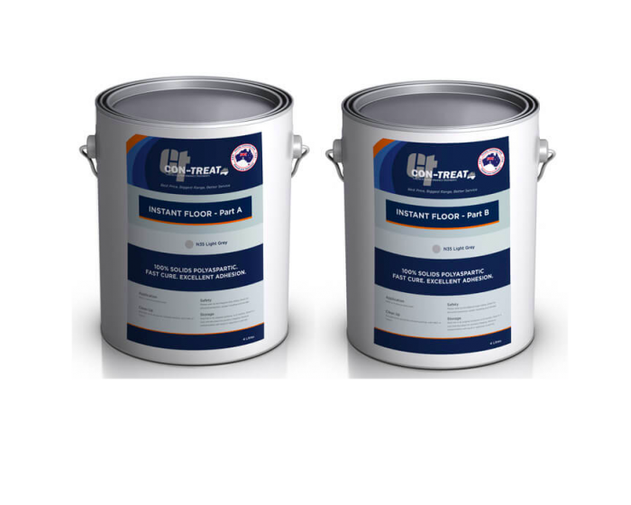 Polyaspartic Floor Coating Clear