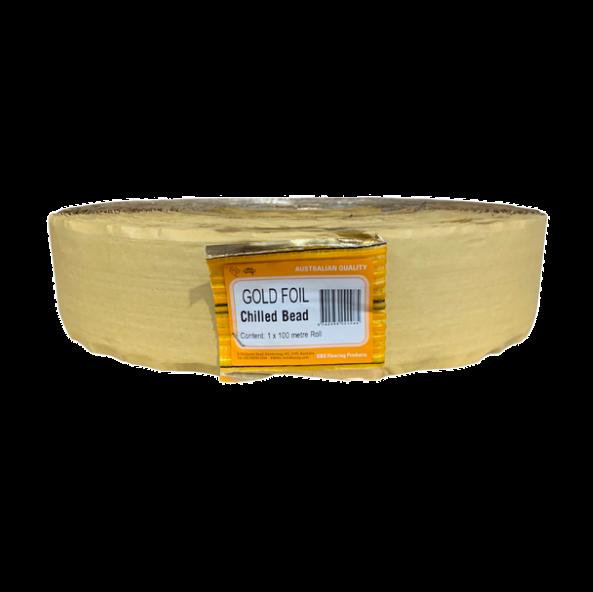 Heat Tape Gold Foil 100m TB-311-G