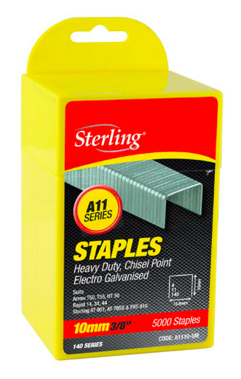 Sterling Staples A11-8mm A1108-5M