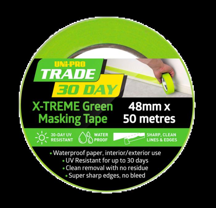 UniPro 30-Day Masking Tape Green 70748